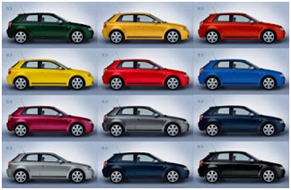 colorresa de autos